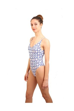 Swimsuit with Capri majolica Aram Capri | 85 | ACIM059BIANCO