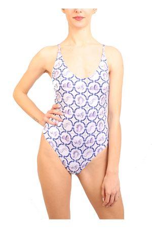 Swimsuit majolica pattern Aram Capri | 85 | ACIM440BIANCO
