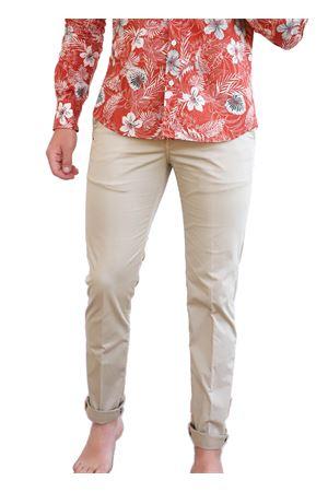 pantaloni uomo cotone con zip Camouflage | 9 | CHINOSREYBLEACHEDSAND