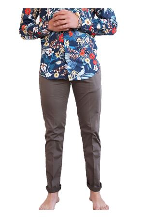 pantaloni uomo marrone con zip Camouflage | 9 | CHINOSREYMOKA