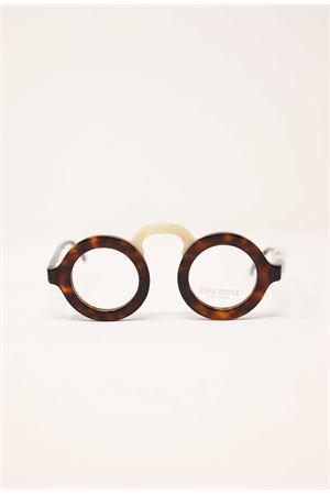 occhiali rotondi con ponte da uomo e donna Capri People | 53 | MANDARINOTARTABEIGE