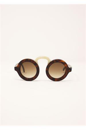 occhiali rotondi con ponte da uomo e donna Capri People | 53 | MANDARINOTARTASATI