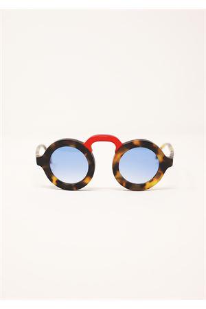 occhiali rotondi con ponte da uomo e donna Capri People | 53 | MANDARINOTARTASATIRED