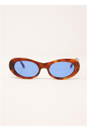 occhiali da sole tartarugati con lente blu Capri People | 53 | TRAGARA2TARTABLU