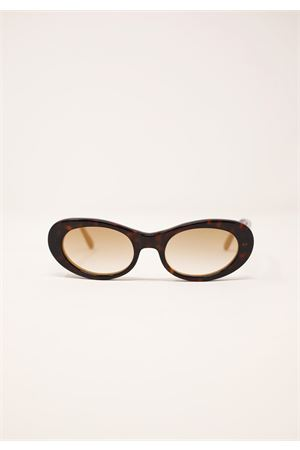 occhiali da sole tartarugati marrone scuro Capri People | 53 | TRAGARA2TARTADARK
