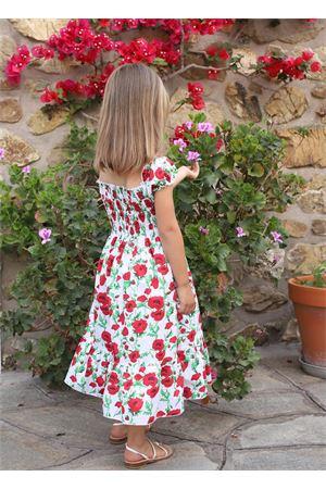 Caprese dress for girls Capridea | 5032262 | VESTITOPAPAVERIPAPAVERI