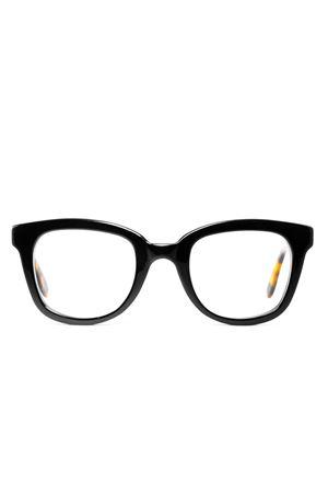 Black tortoiseshell eyeglasses frame Cimmino Lab | 53 | FARAGLIONIVISTANERATARTA