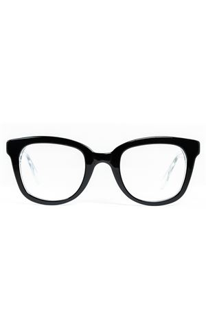 Black and transparent eyeglasses frame Cimmino Lab | 53 | FARAGLIONIVISTANEROCRISTALLO