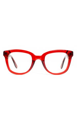 Red eyeglasses frame Cimmino Lab | 53 | FARAGLIONIVISTAROSSO