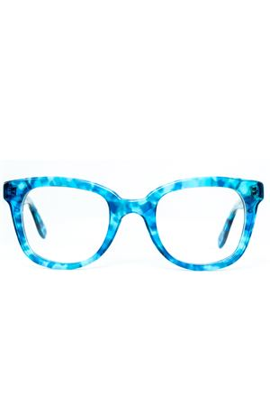 Tortoisehell blu Capri eyeglass frame Cimmino Lab | 53 | FARAGLIONIVISTATARTARUGATOBLUCAPRI