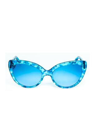 Blue Capri color sunglasses for woman Cimmino Lab | 53 | MATERITATARTARUGATOBLUCAPRI