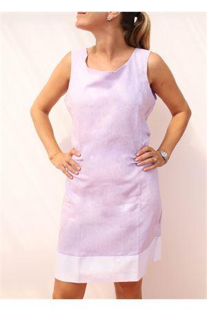tailored linen sheath dress Colori Di Capri | 5032262 | TUBINOPIGNALILLA