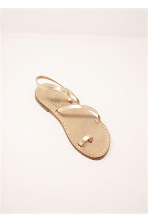 Pink laminated Capri sandals for girls Cuccurullo | 5032256 | 3FASCEALLUCEBABYROSALAM