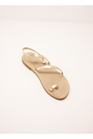 Laminated pink Capri sandals Cuccurullo | 5032256 | 3FASCEALLUCEROSALAM