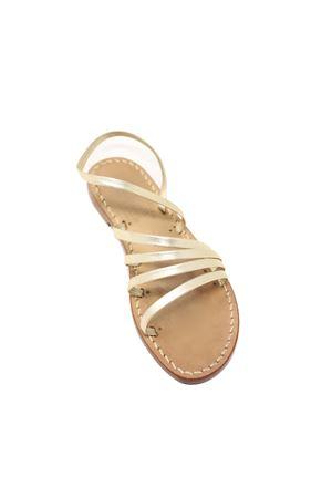 Non-flip flops platinum sandals Cuccurullo | 5032256 | 5FASCEPLATINO