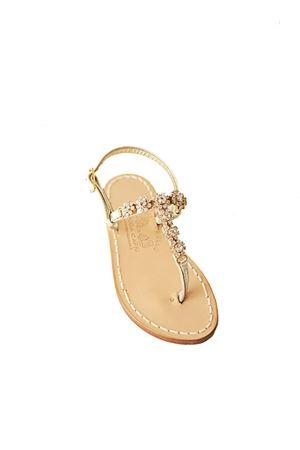 sandali gioiello color oro da bambina Cuccurullo | 5032256 | BABYJEWELGOLDGOLD