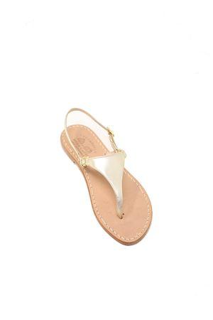 Triangle model Capri sandals Cuccurullo | 5032256 | CAPRICLASSICPLATINO