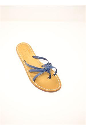 blue Capri sandals for girls Cuccurullo | 5032256 | CUCNODO1BABYARANCIONE
