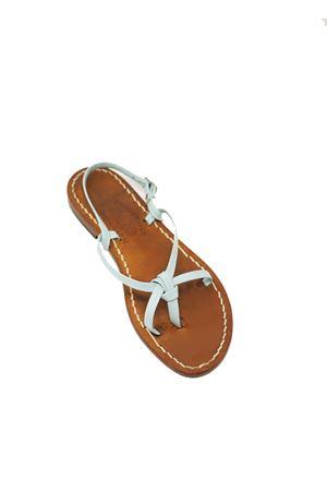 Sandali capresi da bambina azzurro chiaro Cuccurullo | 5032256 | CUCNODOBABYAZZURRO