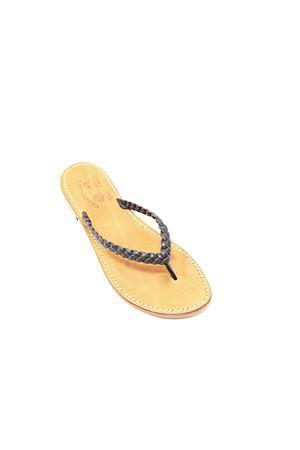 Capri sandals with braids Cuccurullo | 5032256 | INTRECCIOINFRADITONERO