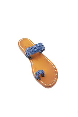 Capri sandals with braids Cuccurullo | 5032256 | NODOCAPRIGRANDEBLU