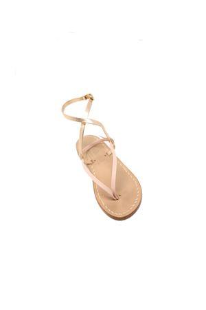 Sandali capresi rosa infradito da bambina Cuccurullo | 5032256 | SAINTTROPEZBABYROSA