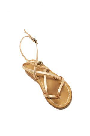 sandali capresi da bambina con fasce per fermare il piede Cuccurullo | 5032256 | SAINTTROPEZBROSA