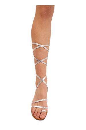 Silver slave sandals not flip flops Cuccurullo | 5032256 | SCHIAVAFASCEALLUCEARGENTO