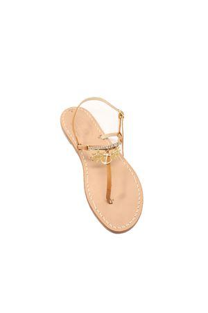 Capri sandals with rudders and anchor Cuccurullo | 5032256 | TIMONIANCORAMARRONE