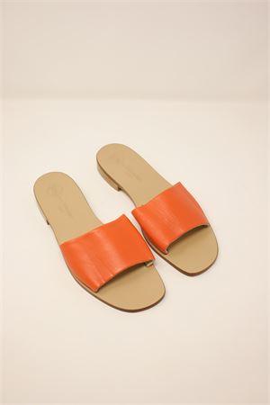 Sandali modello ciabattina arancione Da Costanzo | 5032256 | 2766ARANCIONE