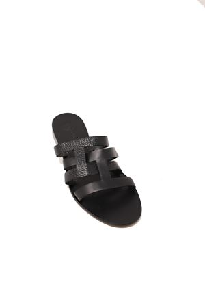 Capri sandals with black intertwined bands Da Costanzo | 5032256 | 2900NERO