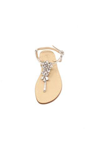 sandali capresi gioiello argentati Da Costanzo | 5032256 | FIORIX2ARGENTO