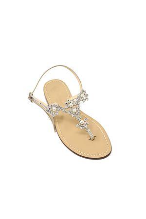 Bridal sandals with pearls  Da Costanzo | 5032256 | GIOIELLOPERLEARGENTO