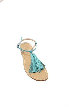 Capri sandals with tassels Da Costanzo | 5032256 | NAPPINENEWNTURCHESEBIANCO
