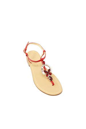 sandali gioiello capresi rossi Da Costanzo | 5032256 | RINGEJEWELROSSOROSSO