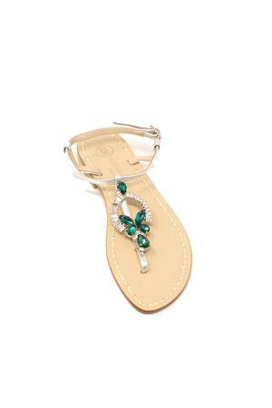 sandali gioiello capresi verdi Da Costanzo | 5032256 | RINGEJEWELVERDE