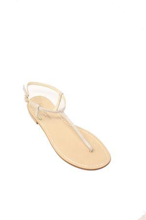 sandali capresi infradito sottili beige Da Costanzo | 5032256 | S1918RAZZABEIGE