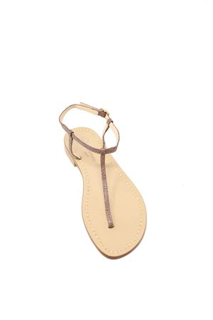 Leather handmade Capri sandals Da Costanzo | 5032256 | S1918RAZZACUOIO