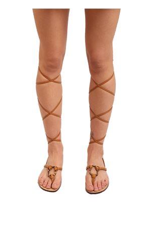 Sandali alla schiava con  bambù Da Costanzo | 5032256 | SCHIAVABAMBOOMARRONE