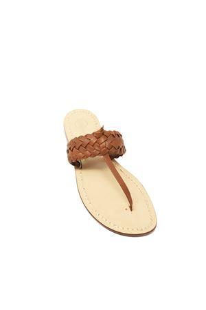 sandali capresi con treccia Da Costanzo | 5032256 | TRECCIONECAPRIMARRONE