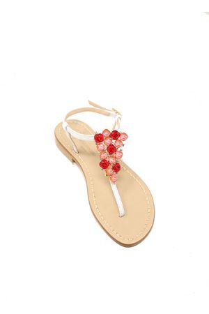 sandali capresi gioiello rossi Da Costanzo | 5032256 | TRIANGOLOJEWELROSSO