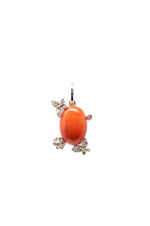 Red coral pendant with diamonds  Don Alfonso Gioielli | 5032249 | A5003ROSSO