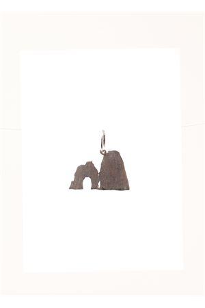 Faraglioni di Capri gold pendant  Don Alfonso Gioielli | 5032249 | AM364BIANCO