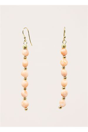 Pink coral earrings  Don Alfonso Gioielli | 48 | AM501ROSA