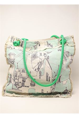 Tiffany green beach bag  Eco Capri | 31 | BBTCPRTFFYTIFFANY