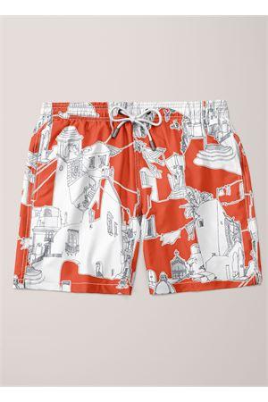 Costume bozer uomo con fantasia Capri Eco Capri | 85 | MSWCPRTMTOMATO