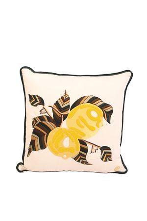 cuscino con limoni ricamati Eco Capri | 20000025 | PLMBRLMNSLEMONS