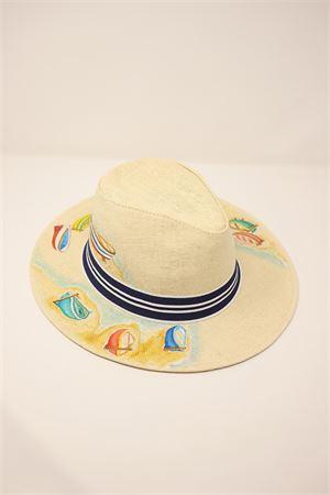 cappello panama barchette Grakko Fashion | 26 | PANAMABARCHETTEBEIGE