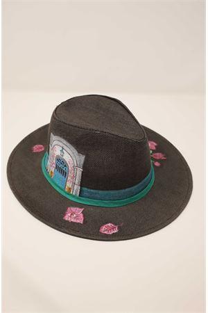 cappello panama bouganvillea Grakko Fashion | 26 | PANAMABOUGANVILLEAMARRONE