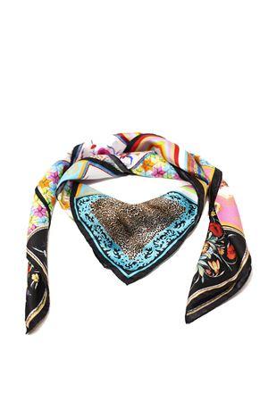 Amalfi Coast patterned silk scarf La Dolce vista | -709280361 | BAROCCOMULTINERO